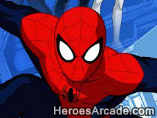 Ultimate Spiderman Iron Spider game