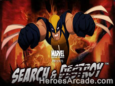 Play Wolverine Search And Destroy game