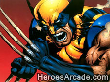Play Wolverine Slice and Dice game