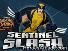 Play Wolverine Sentinel Slash game
