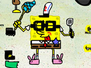 Play Spongebob Dress Up game
