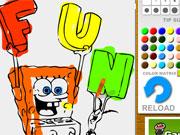 Spongebob Coloring game