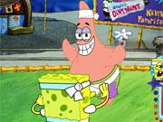 Spongebob Sqaurepants Bikini Bottom Bust Up game