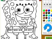Spongebob Squarepants Coloring game