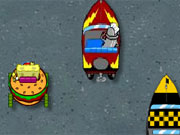 Spongebob Delivery Dilemma game
