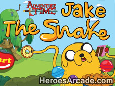 Adventure Time Jake the Snake