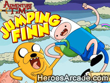 Adventure Time Jumping Finn game