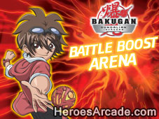 Bakugan Battle Boost Arena game