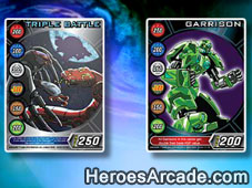 Bakugan Card Concentration game