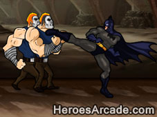 Batman Defend Gotham game