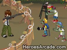 Ben 10 Kills Zombies game