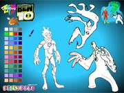 Ben 10 Alien Color game