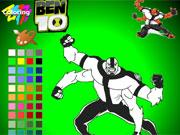 Ben 10 Alien Coloring game