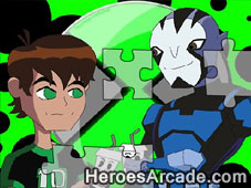 Ben10 and Rook Omniverse game