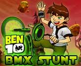 Ben 10 bmx Stunt game