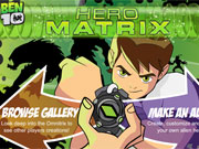 Ben 10 Hero Matrix game