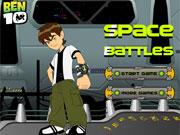 Ben 10 Space Battles game