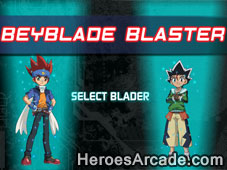 Beyblade Blaster game