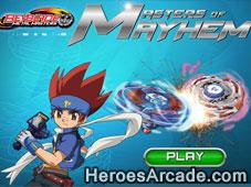 Beyblade Master of Mayhem game