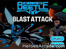 Blue Beetle Blast Attack game