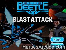 Blue Beetle Blast Attack