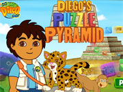 Diego Puzzle Pyramid game
