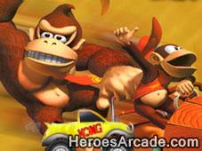 Donkey Kong Truckin game