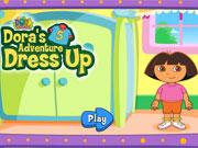 Dora Adventure Dress Up game