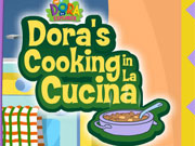 Dora Cooking In La Cucina game