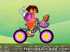 Dora Safe Bike game
