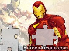 Iron Man Puzzle game