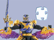 Power Rangers Jigsaw Puzzle game