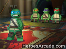 Lego TMNT Ninja Training game