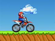 Mario Bros Motocross game
