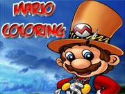Mario Coloring game