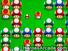 Mario Eats Mushrooms game