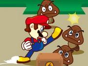 Mario Kick Ass game