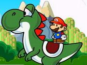 Mario Yoshi Adventure game