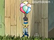 Naruto Balloon Burst game