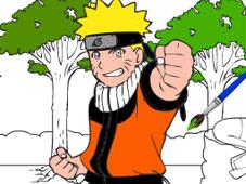 Naruto Cartoon Coloring game