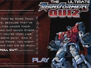 Ultimate Transformers Quiz game