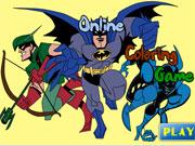 Paint Batman game
