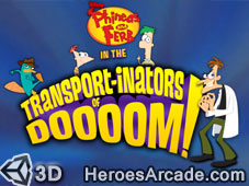 Phineas and Ferb Transport-inators of Doooom game