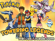 Pokemon Towering Legends game