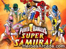 Power Rangers Samurai Games game