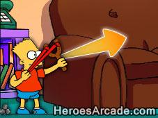 Simpsons Slingshot game