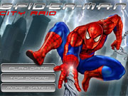Spiderman City Raid game