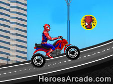 Spiderman Ride game