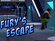 Super Hero Squad Fury's Escape game