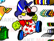 Super Mario Dress Up game